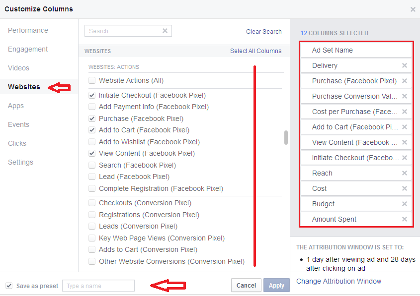how to download facebook ad report