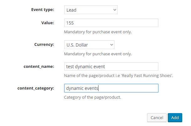 dynamic-url-event