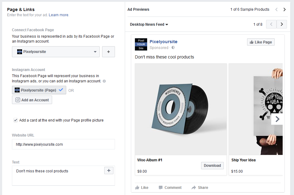 Create a Facebook Dynamic Ads campaign with Ads Manager [VIDEO]