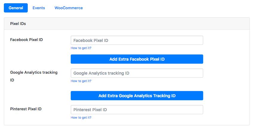 Add your Facebook Pixel - PixelYourSite
