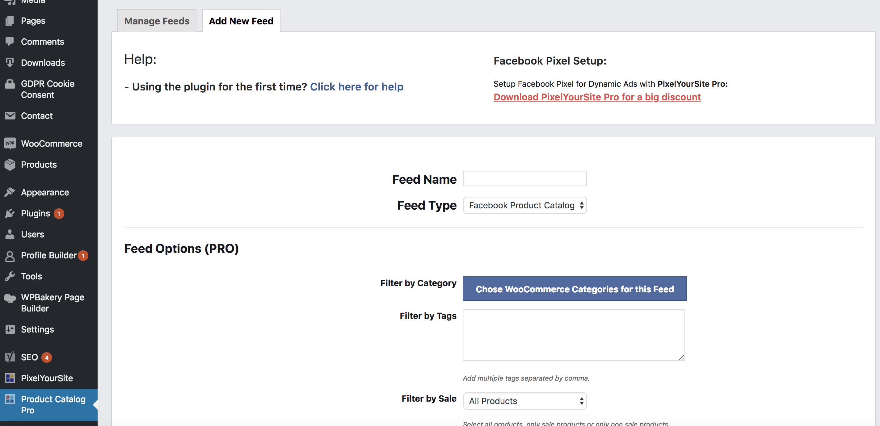 How to create a Facebook Product Catalog using a XML feed