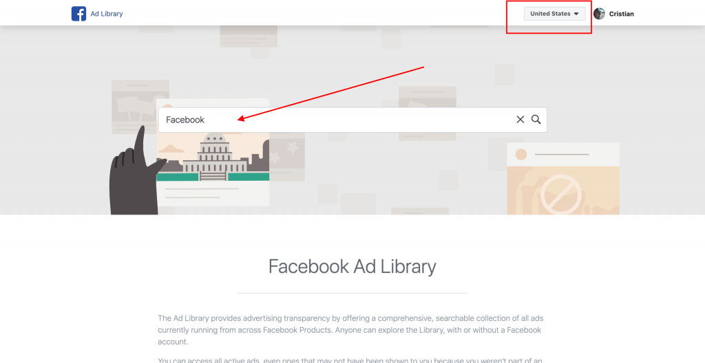 Spy on your competitors' Facebook Ads - FREE TOOL